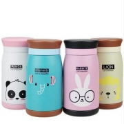 Cartoon Animals Thermos Bottle
