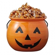 Jack O Lantern Ceramic Halloween Treat Bowl