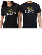 King and Queen Matching T-Shirts