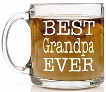Best Grandpa Glass Mug